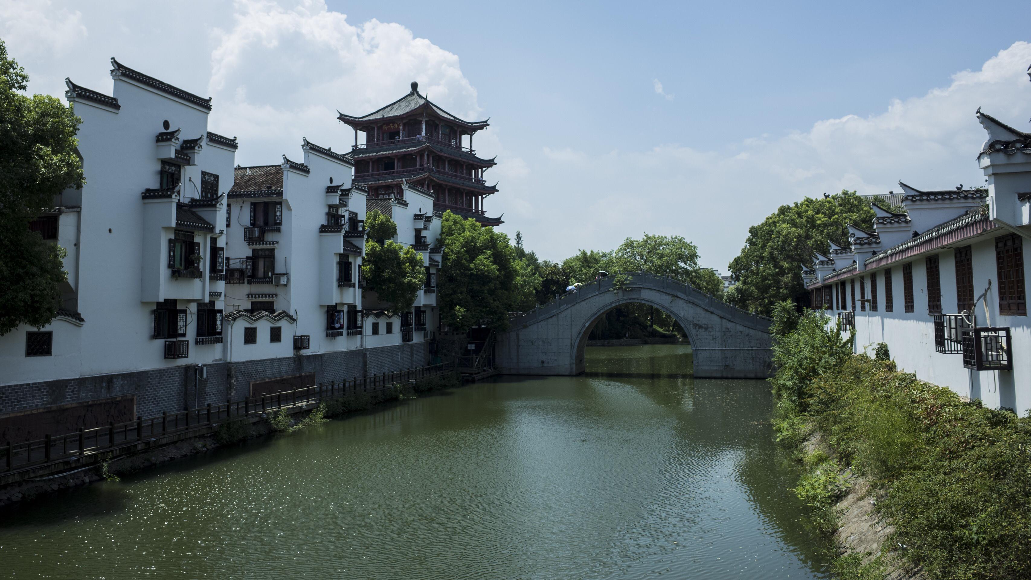 """安徽合肥三河古镇,享有""""千年古镇,美食天堂""""美食天堂"""