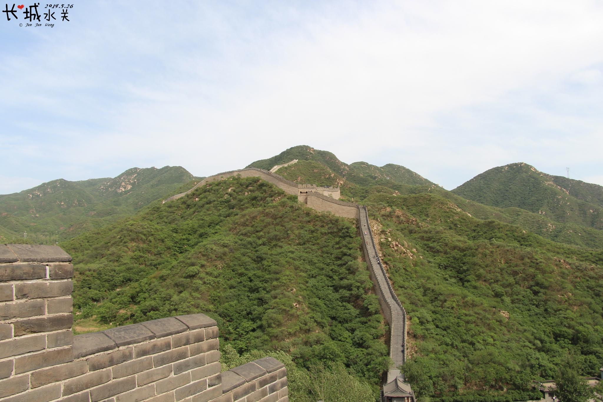 八达岭长城实景图片