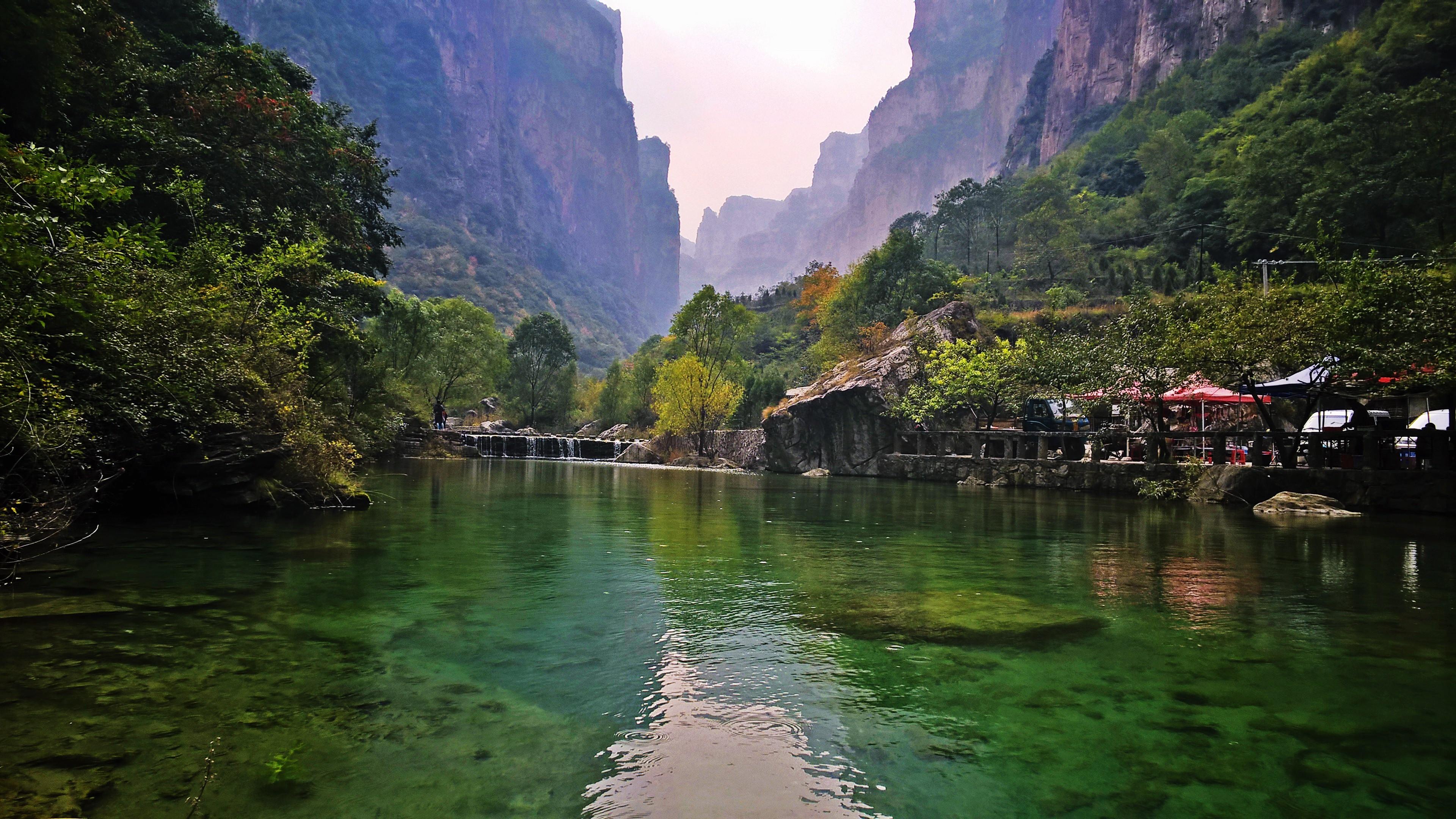 太行大峡谷景区实景图片