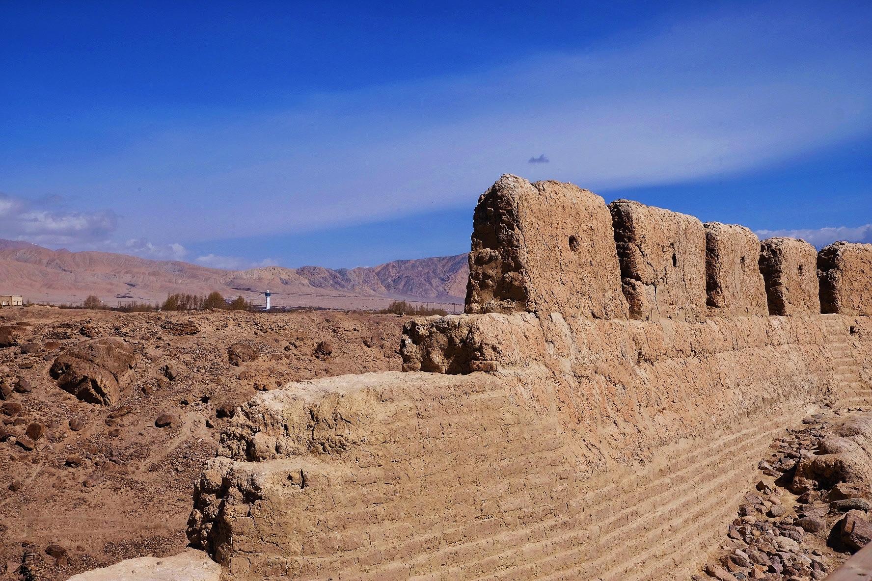 喀什石头城